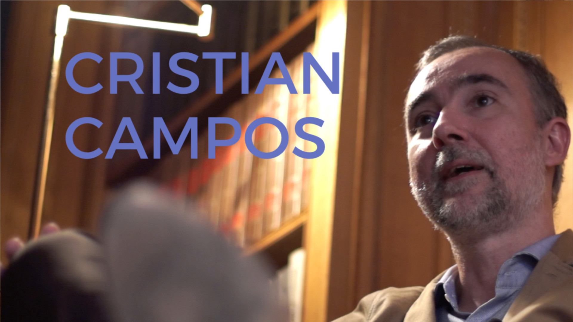 """Cristian Campos: """"La izquierda ha muerto porque ha logrado todos sus objetivos"""""""
