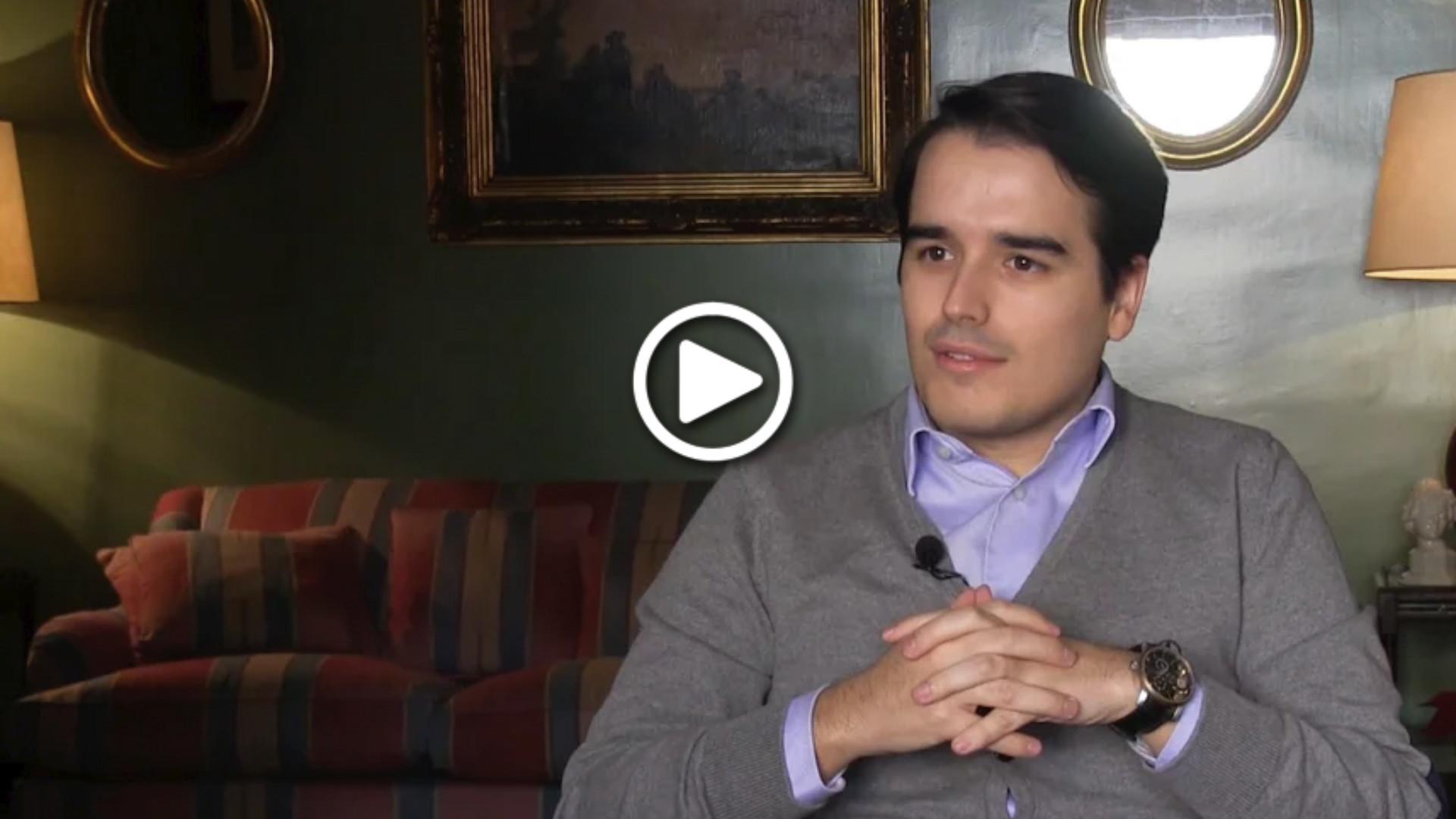 """Diego Sánchez de la Cruz: """"¿Políticos del siglo XX? Churchill, Reagan, Thatcher… y poco más"""""""
