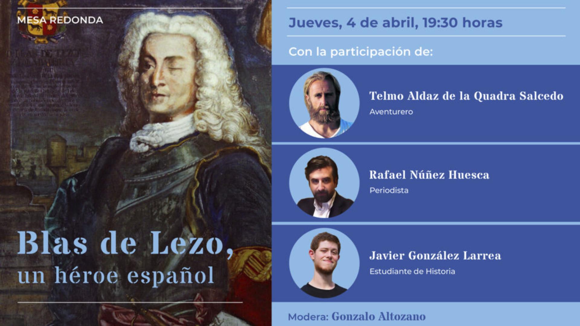 Mesa redonda 'Blas de Lezo, un héroe español'