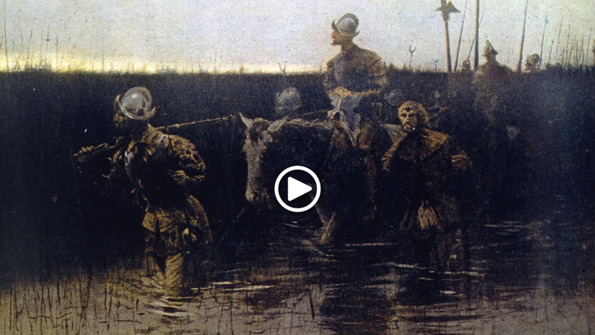 Hernando de Soto, el descubridor del río Misisipi