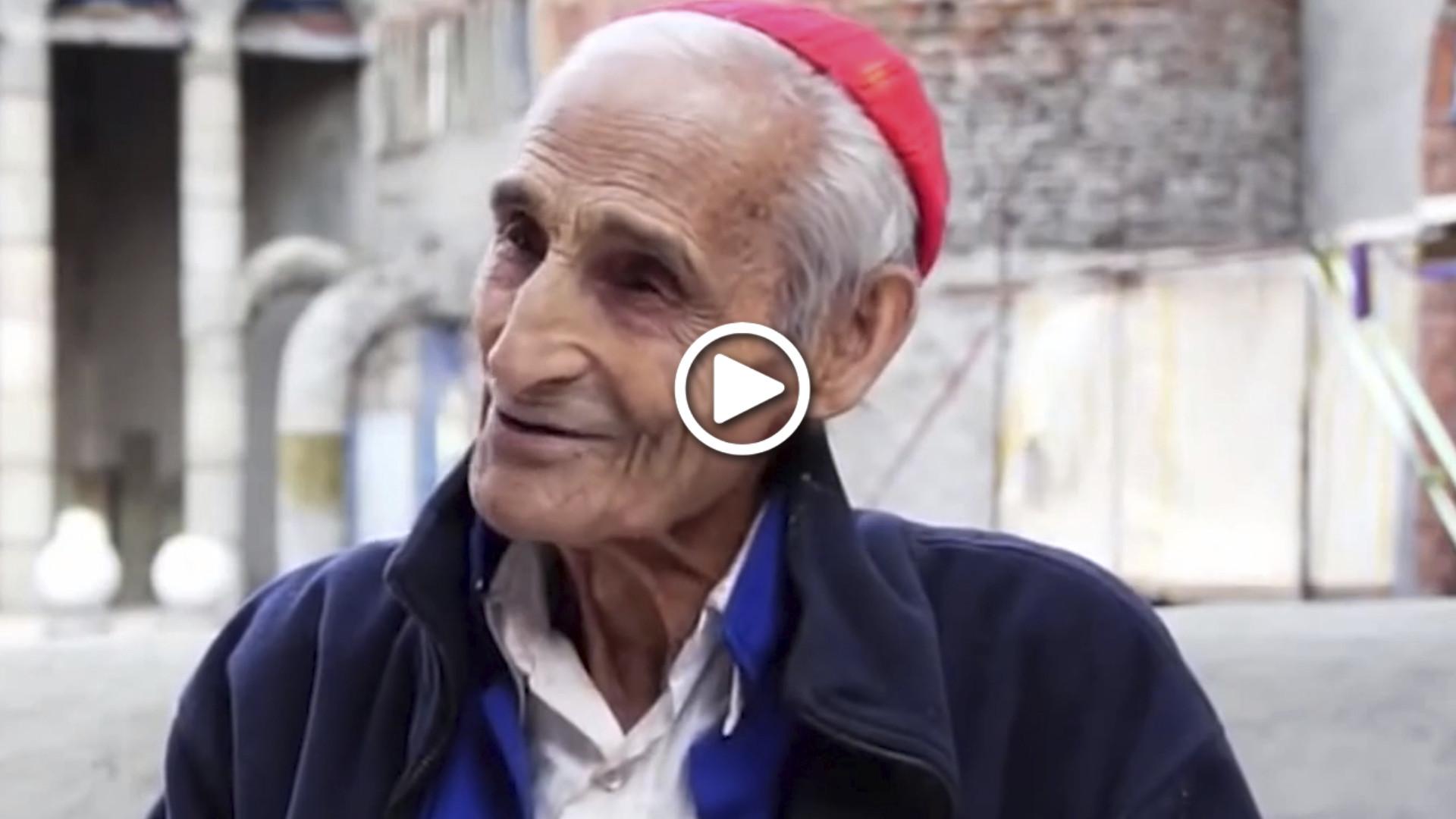 Don Justo, el labriego que construyó una catedral con sus manos