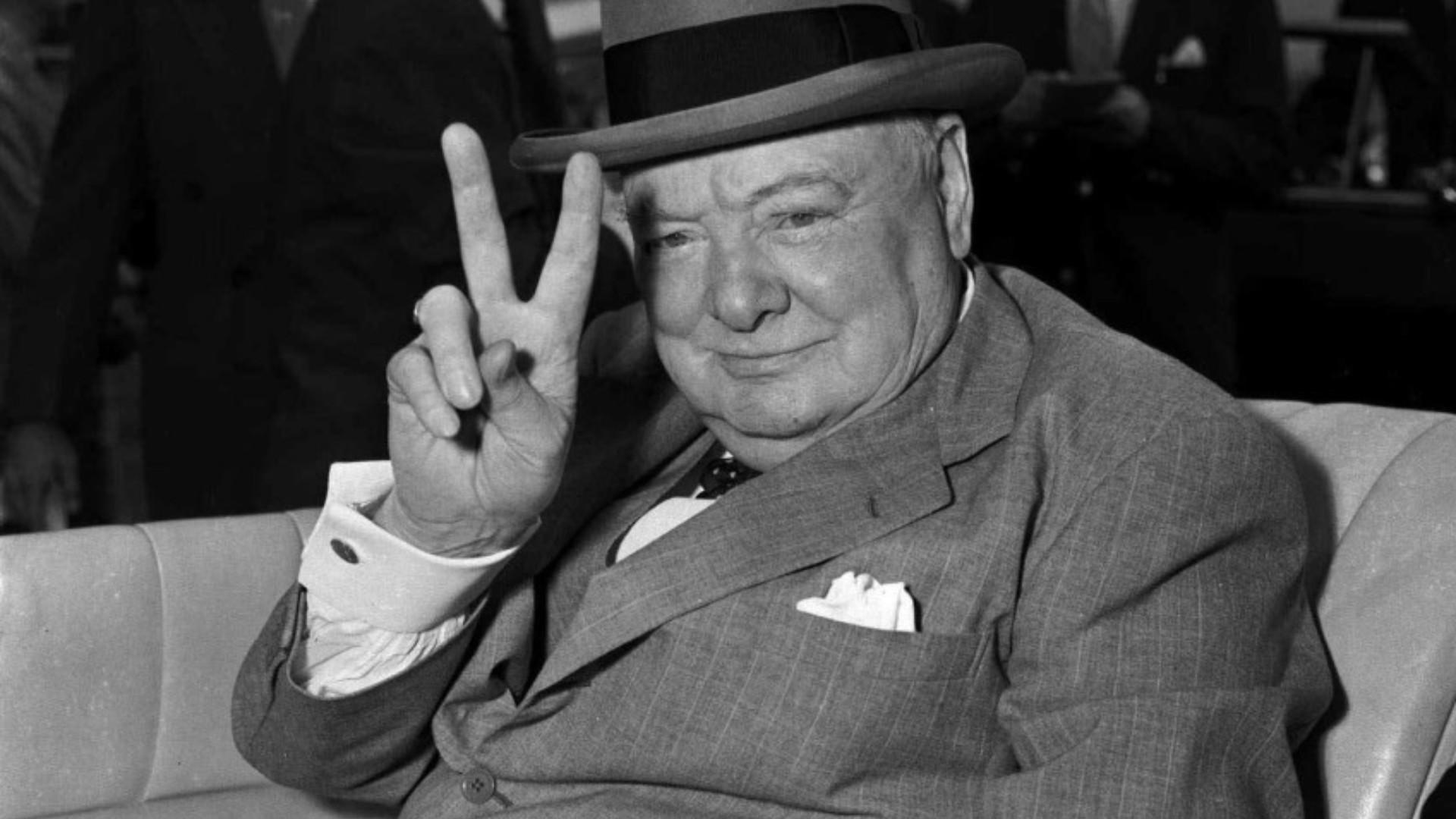 Una estatua para Sir Winston Churchill