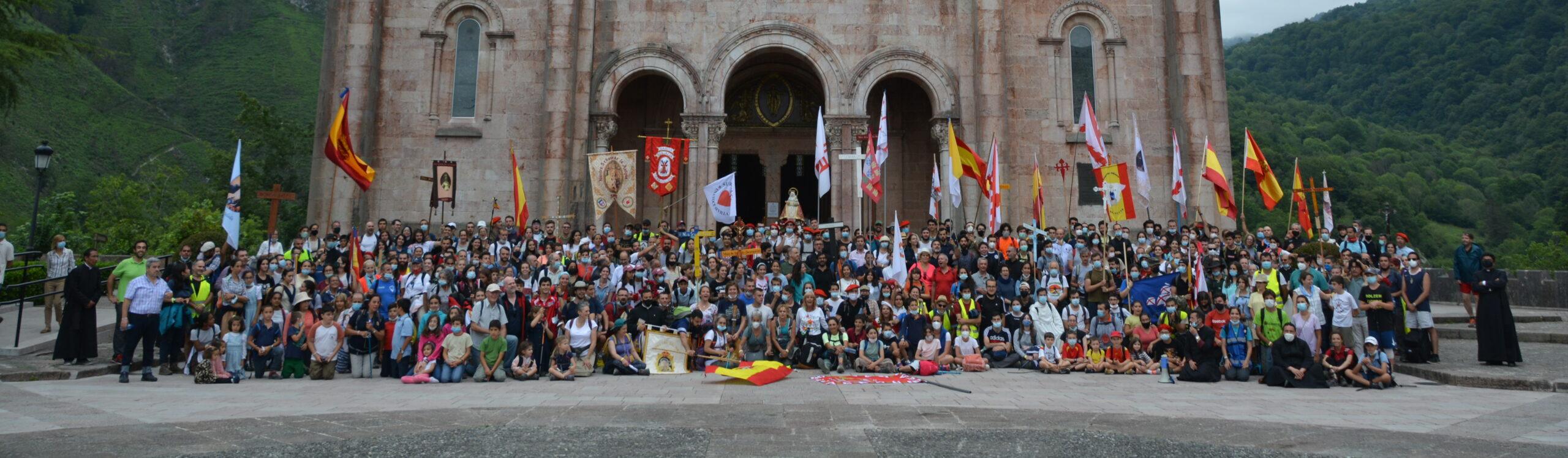 Una peregrinación por el Papa, por la Iglesia y por España